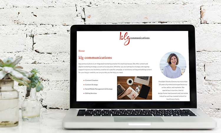 klg communications offers website content audits.